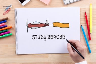 study abroad   text