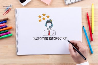 CUSTOMER SATISFACTION text