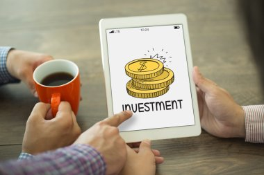 BUSINESS, INVESTMENT CONCEPT
