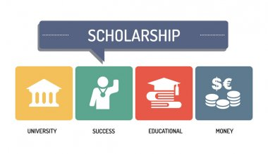 SCHOLARSHIP - ICON SET