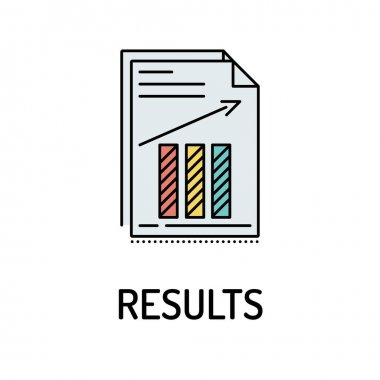 RESULTS Line Icon