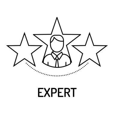Expert Line Icon