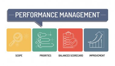 PERFORMANCE MANAGEMENT - LINE ICONS