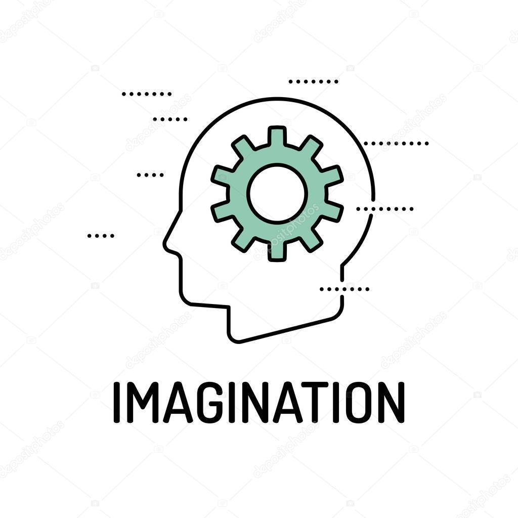 IMAGINATION Line icon