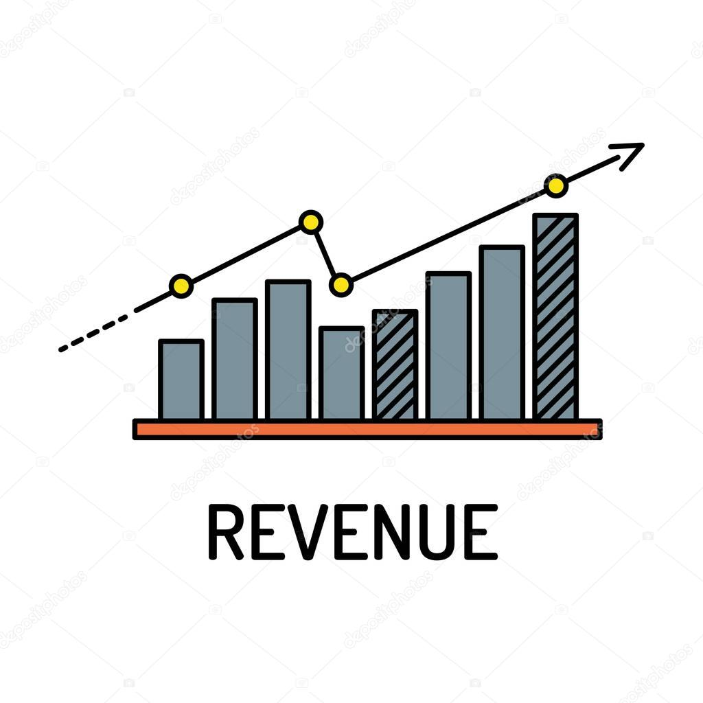 Revenue Line Icon