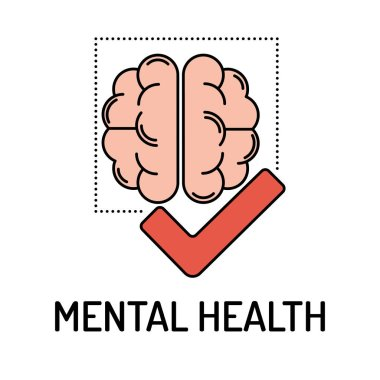 MENTAL HEALTH Line icon