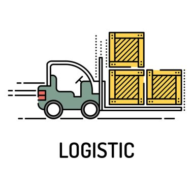 LOGISTIC Line icon