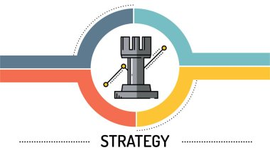 STRATEGY  - LINE ICON