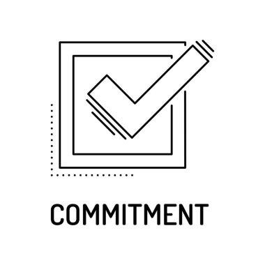 Commitment Line Icon
