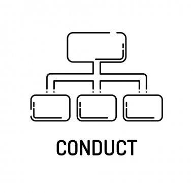 CONDUCT Line icon
