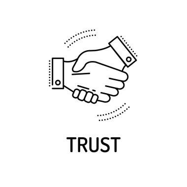 TRUST Line icon