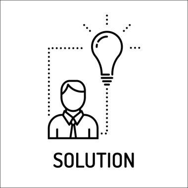 Solution Line Icon