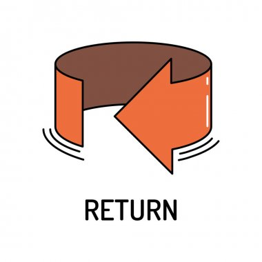 Return Line Icon