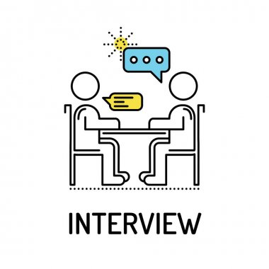 INTERVIEW Line Icon
