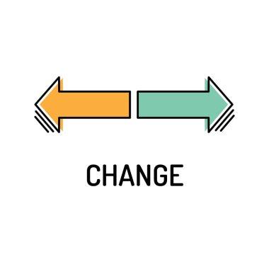 Change Line Icon