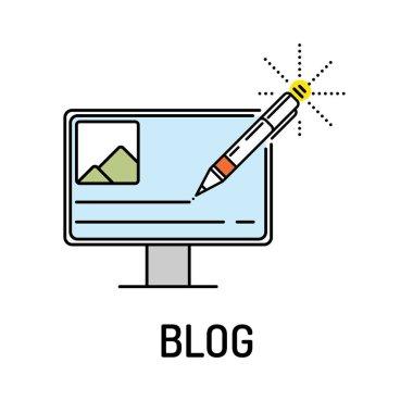 BLOG Line Icon