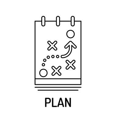 PLAN Line icon