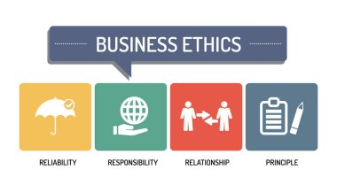 BUSINESS ETHICS - ICON SET