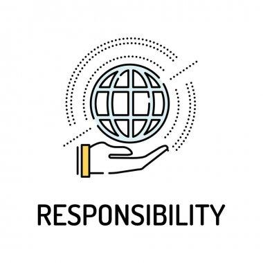 RESPONSIBILITY Line icon