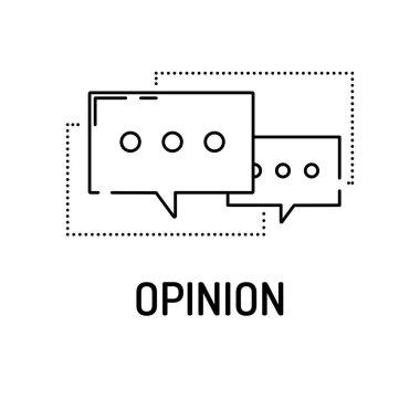 OPINION Line icon
