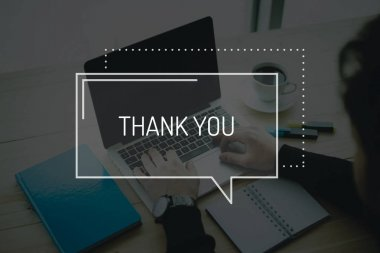 BUSINESS THANK YOU CONCEPT