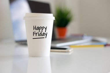 Happy Friday Coffee Cup