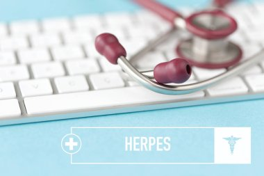 HERPES HEALTHCARE CONCEPT