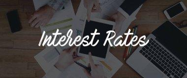 TEAMWORK INTEREST RATES CONCEPT
