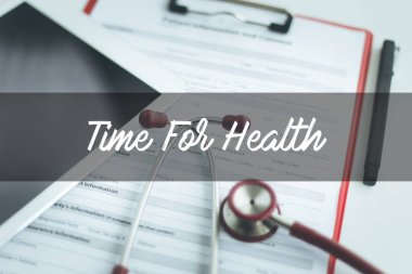 CONCEPT: TIME FOR HEALTH
