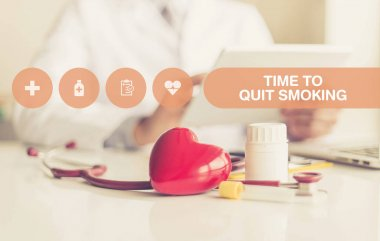 H CONCEPT: TIME TO QUIT SMOKING