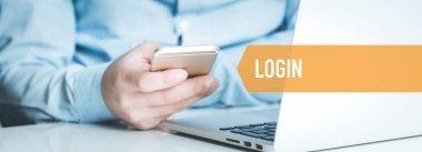 TECHNOLOGY CONCEPT: LOGIN