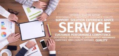 Concept: Service Word Cloud