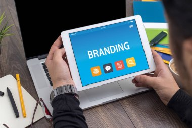 BRANDING CONCEPT ON TABLET