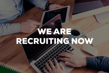 WE ARE RECRUITING NOW CONCEPT