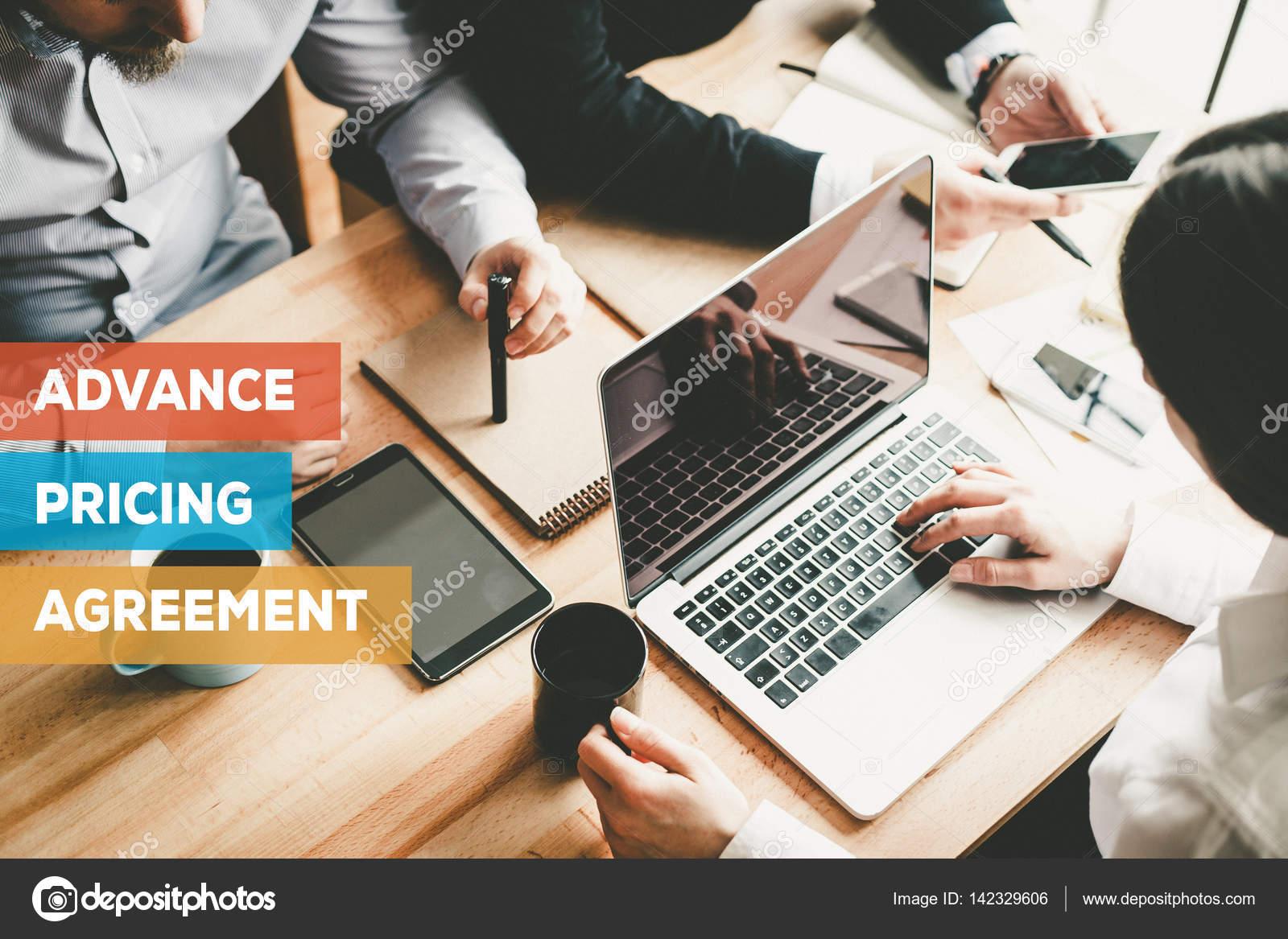 Advance Pricing Agreement Concept Stock Photo Garagestock 142329606