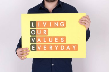 Living Our Values Everyday Acronmy