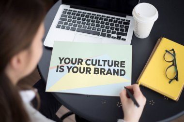 YOUR CULTURE IS YOUR BRAND CONCEPT