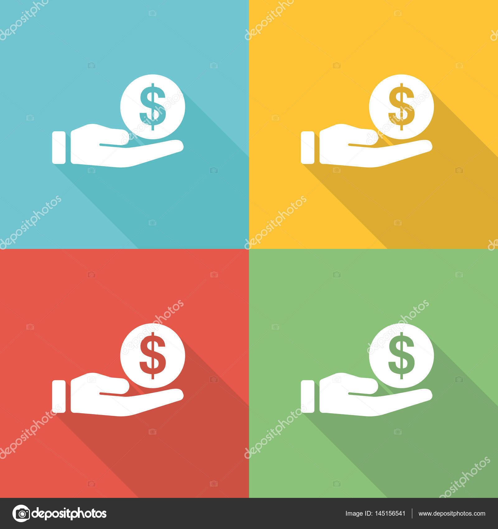 Anwalts-und Gerichtskosten flache Symbol Konzept — Stockvektor ...