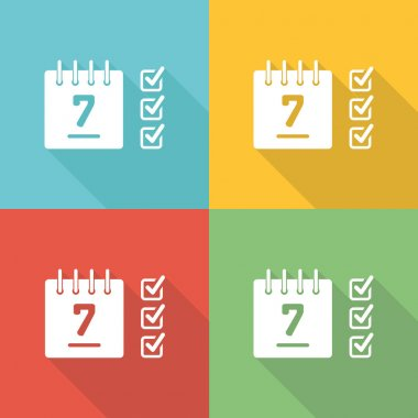Schedule  Icon Concept