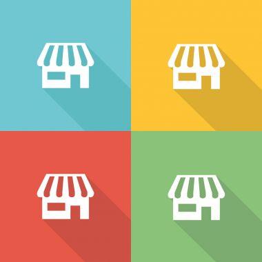 Store  Icon Concept