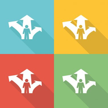 Career Opportunity Flat Icon Concept