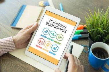 Business Economics concept