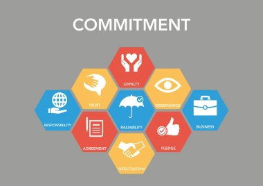 Commitment Icon Concept