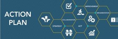 Action Plan Icon Concept