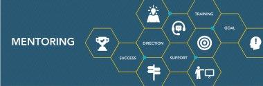Mentoring Icon Concept