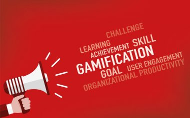 Gamification Concept. Illustration