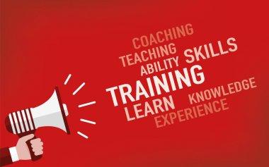 Training Concept. Illustration