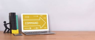 COMMAND CONCEPT on screen