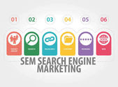 Photo SEARCH ENGINE MARKETING CONCEPT