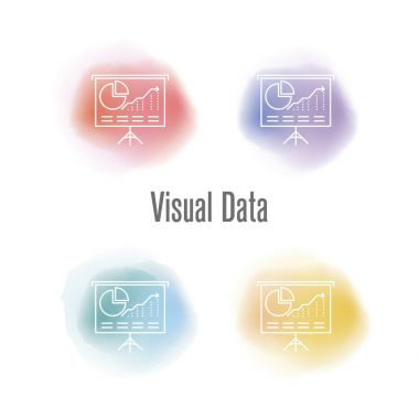 Visual Data Concept